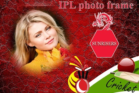 screenshot of IPL Photo Frame 2018 version 1.15
