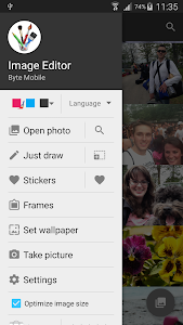 screenshot of Image Editor version 4.4.b146