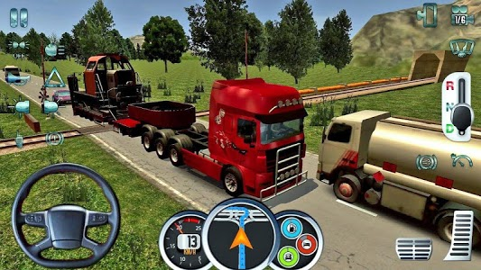 screenshot of Indian Off-road Mountain Truck Driver version 1.0