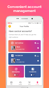 screenshot of Influence Flow - Makes you a social network star version 1.2.5