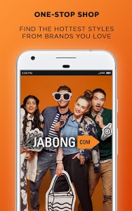 screenshot of Jabong Online Shopping App version 5.8.0
