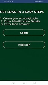 screenshot of Jaguar Loan App - Undisbursed version 1.21.1