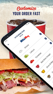 screenshot of Jersey Mike's version 2.4.2