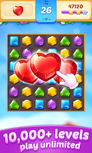 screenshot of Jewel Town - Most Match 3 Levels Ever version 1.4.5
