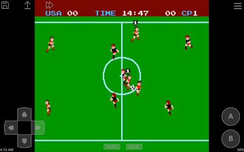 screenshot of John NES Lite - NES Emulator version 3.71