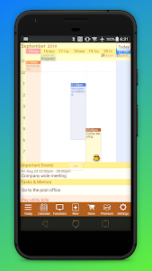 screenshot of Jorte Calendar & Organizer version Varies with device