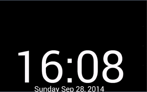screenshot of KMClock version 1.0
