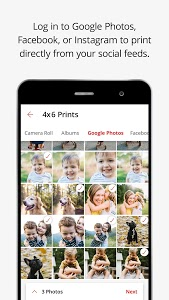 screenshot of KODAK MOMENTS: Create premium prints & photo gifts version 7.7.0