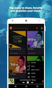 screenshot of Kishore Kumar Hit Songs App version Varies with device