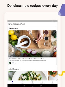 screenshot of Kitchen Stories - Recipes & Cooking version Varies with device