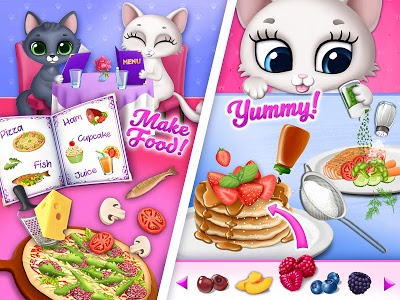 screenshot of Kitty Meow Meow - My Cute Cat Day Care & Fun version 4.0.9