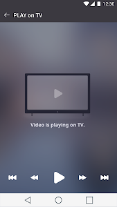 screenshot of LG TV Plus version 4.0.1