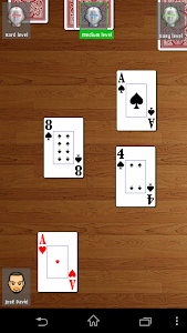 screenshot of Escoba / Broom cards game version 1.2.5