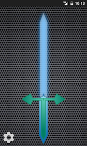 screenshot of Laser Sword version 2.3.5