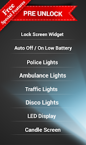 screenshot of LED Torch Bulb: Flashlight App version 1.5.2