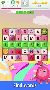 screenshot of Letters Blast - Explosive Word Search Puzzle Fun version 1.0.0