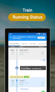 screenshot of IRCTC Train Booking, PNR, Live Status - RailYatri version 4.0.3