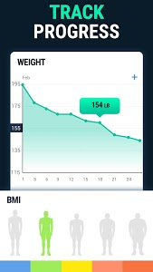 screenshot of Lose Weight App for Men - Weight Loss in 30 Days version 1.0.8