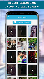screenshot of Love Video Ringtone for Incoming Call version 14.0