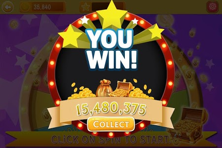 screenshot of Lucky Spin Coins version 1.0