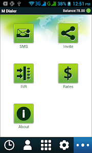 screenshot of M Dialer-mobile version 3.9.3
