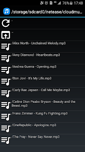 screenshot of MP3 Cutter & Ringtone Maker version 1.8.8