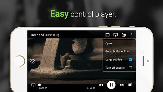 screenshot of MV CastPlayer version 1.0.4