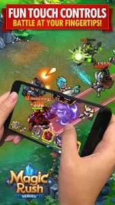 screenshot of Magic Rush: Heroes version 1.1.127