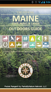 screenshot of Maine State Parks & Land Guide version 5.29.10