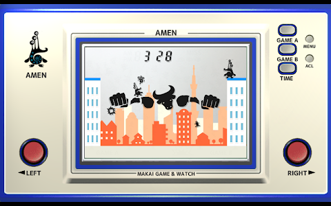 screenshot of Makai Game & Watch No.18 - AMEN version 1.063