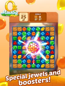 screenshot of Matching Magic: Oz - Match 3 Jewel Puzzle Games version 1.7.02