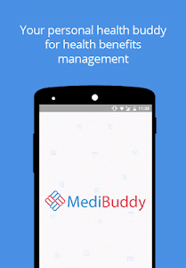 screenshot of MediBuddy version 2.1