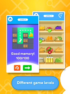screenshot of Train your Brain - Memory Games version 2.5.7