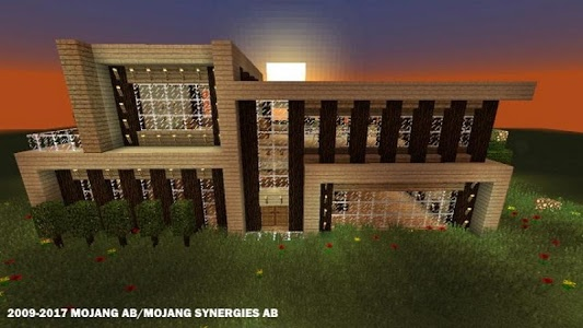 screenshot of Modern Houses for Minecraft ★ version 1.4.1