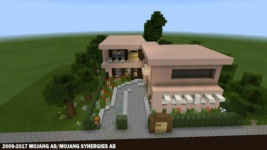 screenshot of Modern Houses for Minecraft ★ version 1.2