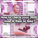 Download How To Check New 2000 Note Fake 0.5 APK