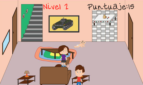 screenshot of Mom Chancla version Fayuca Games