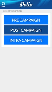 screenshot of Monitoring of Polio Campaign version 1.2.6