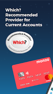 screenshot of Monzo Bank version Varies with device