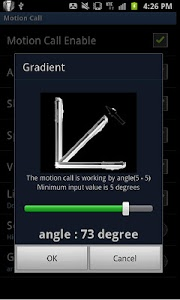 screenshot of Motion Call(motioncall) version 1.04