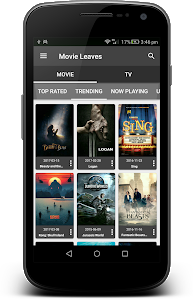 screenshot of Movie Box - Movies, TV shows, Wallpapers, Trailers version 1.0.0