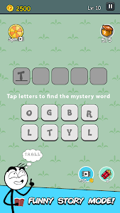 screenshot of Mr Troll Story - Word Games Puzzle version Varies with device
