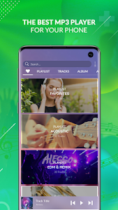 screenshot of Music Player for Galaxy version 10.3.1