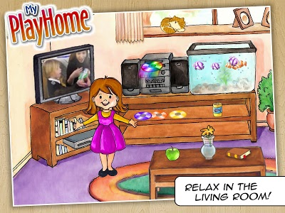 screenshot of My PlayHome Lite - Play Home Doll House version 3.5.5.23