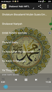 screenshot of NABI invocation MP3 OFFLINE version 1.0