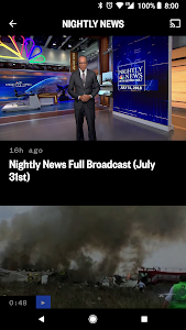 screenshot of NBC News: Breaking News, US News & Live Video version Varies with device