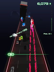 screenshot of Neon Drifter version 0.1