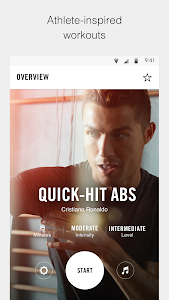 screenshot of Nike Training Club - Workouts & Fitness Plans version 5.14.0