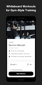 screenshot of Nike Training Club - Workouts & Fitness Guidance version Varies with device