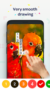 screenshot of No.Pix - Color by Number, Pixel Art Coloring Book version Varies with device
